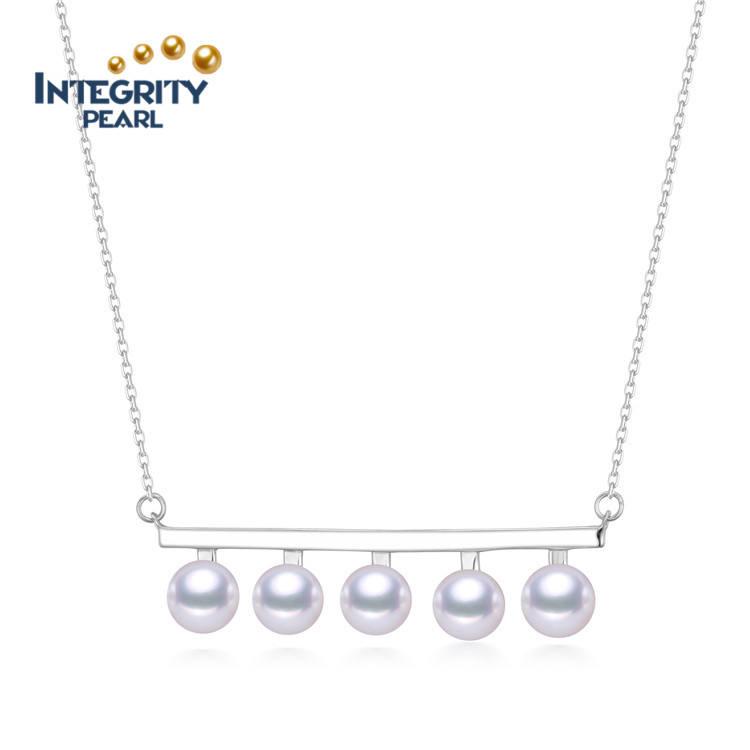 Véritable Naturel 9-10 mm blanc Akoya Freshwater Pearl Silver Dangle Boucles d/'oreilles AAA