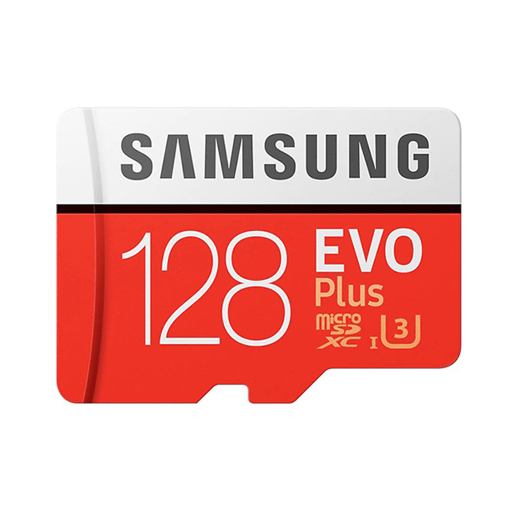 Samsung 100% Original Bulk 128GB MicroSDXC Micro TF SD Memory Cards EVO Plus Class 10 UHS-3 Samsung SD Card 128GB