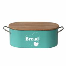 Cookmate bread food box Square Metal Red Vintage Home Kitchen Gifts Tea Coffee Sugar Tin Canister/Bread Box/Bin/Container/Holder