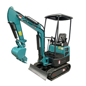 CX11B hot sale Euro 5 emission standard garden small digger mini excavator Bagger for farm agricultural use