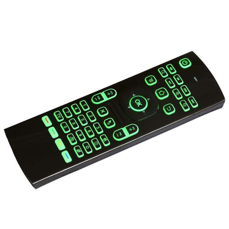 MX3 Backlit Air Mouse T3 Smart Remote Control 2.4G RF Wireless Keyboard with Voice Microphone for X96 tx3 H96 pro Android TV Box