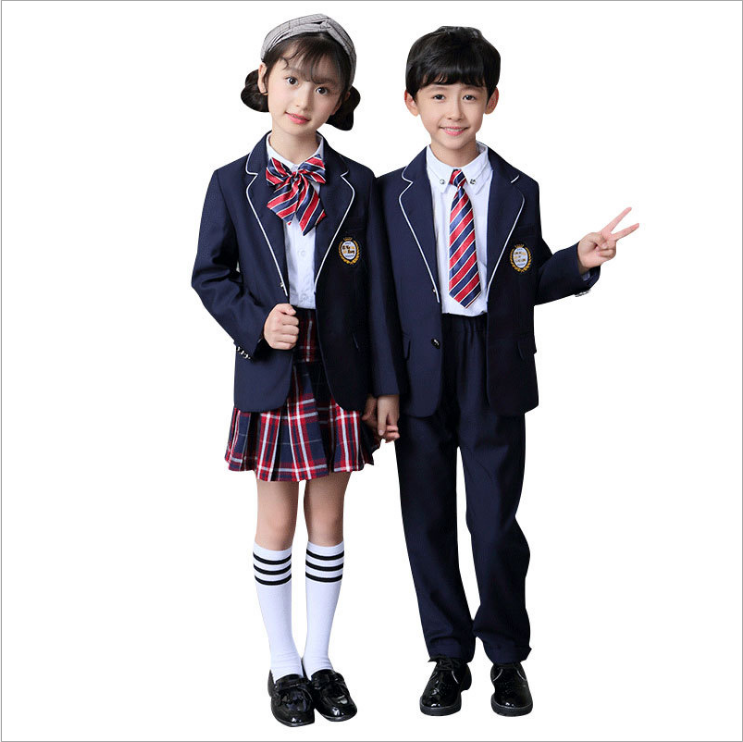 MANUFACTURE CUSTOM OWN SIZE LOGO STUDENT KIDS BLAZER FOR SCHOOL UNIFORM COAT