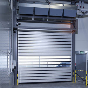 Roll Up Door Automatic Aluminum Fast Rolling Metal High Speed Shutter