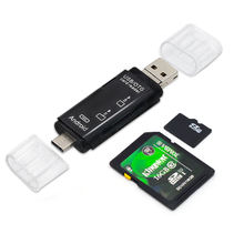 2020 5 in 1 USB 3.0 Adapter Type C Card Reader for SD/TF Mini Multi Memory Card Reader