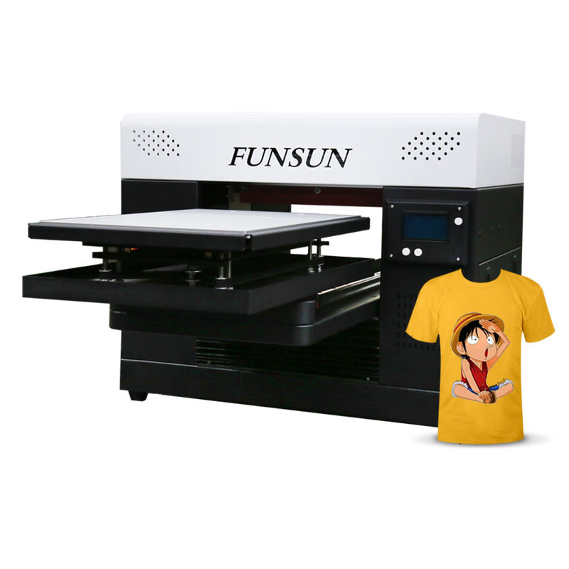 New advanced a3 size textile fabric sweater cloth tshirt printing machine dtg printer for t-shirt