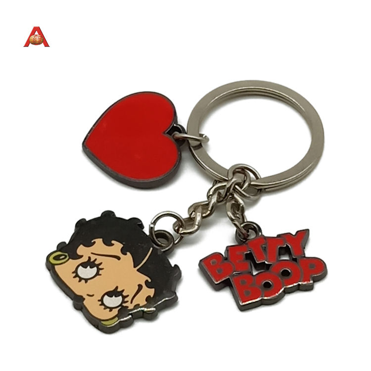 Custom High Quality Cheap Promotional Metal Logo Keychain Key Chains