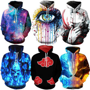 Sublimatie Print Oem Hooded Sweatshirt 3d Digital Print Trui Hoodies