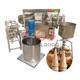 Semi Automatic Waffle Cone Rolled Sugar Cone Making Ice Cream Cone Making Machine