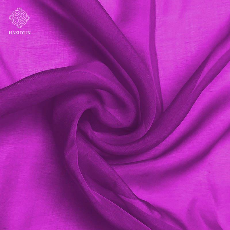 100/% Polyester High Grade Georgette Chiffon Printed Dress Fabric £3.99//m purples