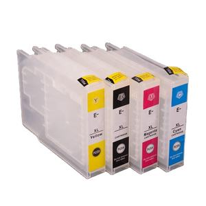 Ocinkjet T9081-T9084 Refillable Ink Cartridge With Chip For Epson WF 6590D2TWFC 6590DTWC 6590DW Printer