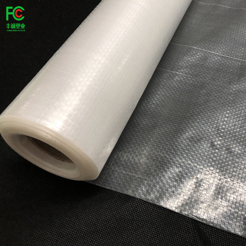 UV treated 200 micron woven greenhouse cover reinforced fabric greenhouse plastic film