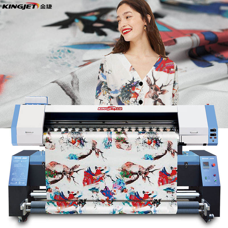 1 Year Warranty [ Textile Printing Digital ] Fabric Digital Printing Machine Best Textile Fabric Printing Digital Cotton Textile Fabric Cloth Printer Printing Machine For Clothes