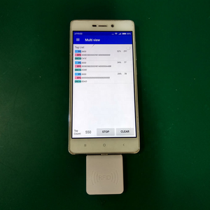 ISO 18000 -6C UHF 860~960MHz type c socket android OTG cell phone Reader