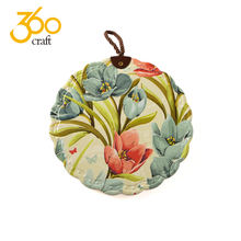 360Craft Heat Resistant Waterproof Ceramic Trivet Table Mats And Coasters Various Size