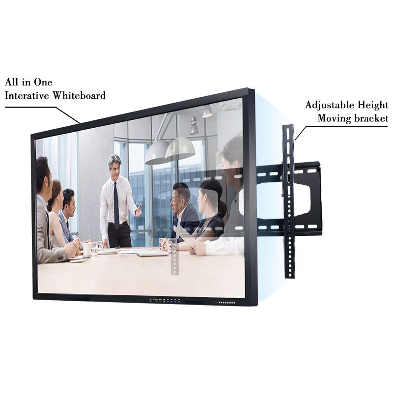 Industriële 86 Inch Infrarood Touch Screen Monitor Met 10/20 Touch Punten