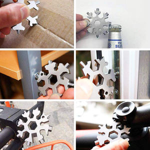 2021 New Arrivals Stainless Steel Snowflake Multi-Tool snowflake 18 in 1 multi tool with box