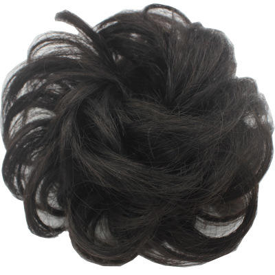 Style bun hair Various Plenty of hair, silky smooth Accessories For Women rubber band human Hair Chignon