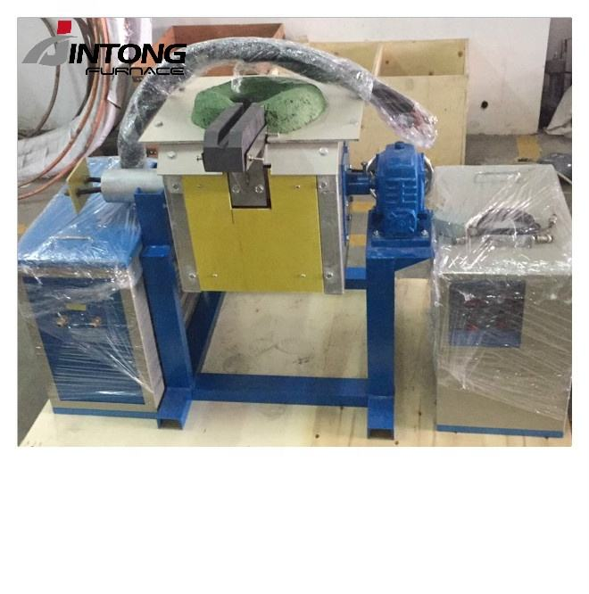 15KW 10KG Medium Frequency Copper Melting Furnace
