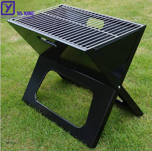 2020 Hot Sale Outdoor Camping Stainless Steel Foldable and Portable X Shape Charcoal Barbecue BBQ Grill