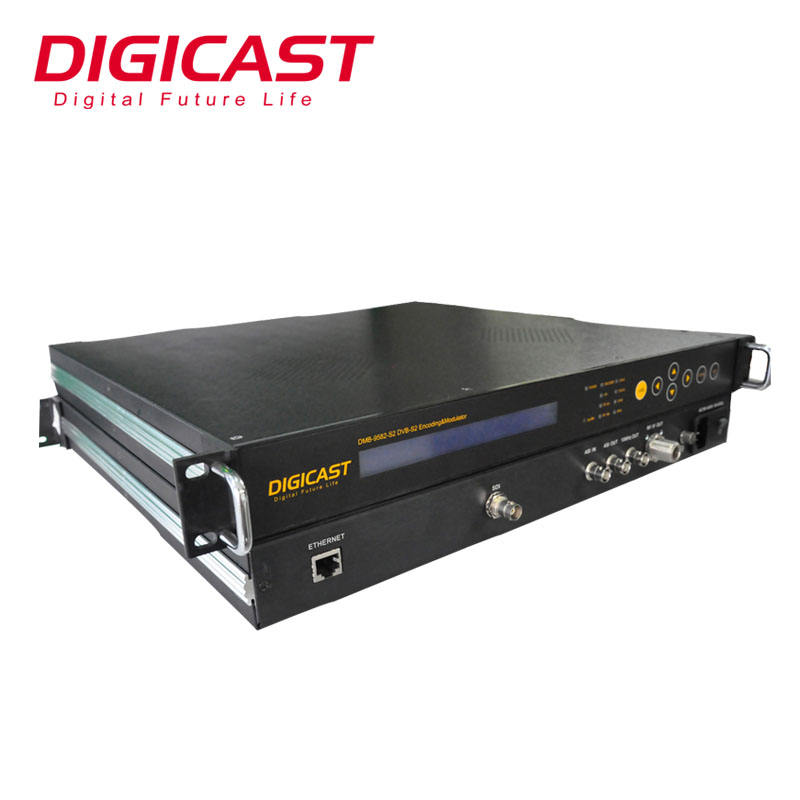 DSNG OB VAN <span class=keywords><strong>SET</strong></span> UP TV Stazione di Media E di Trasmissione MPEG-2/H.264 HD Isdb-t DVB-S2 Encoder Modulatore