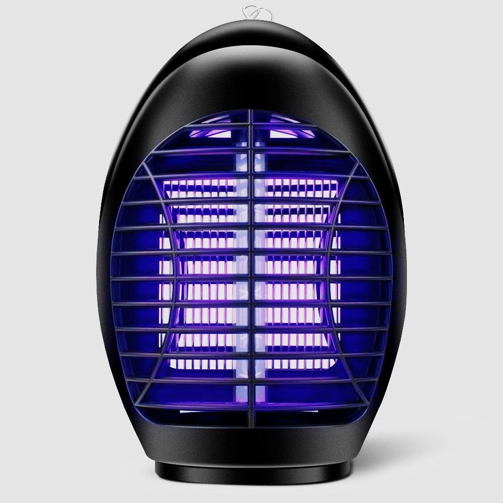 プラグ付き屋内電子LED紫外線蚊取りキラーランプ