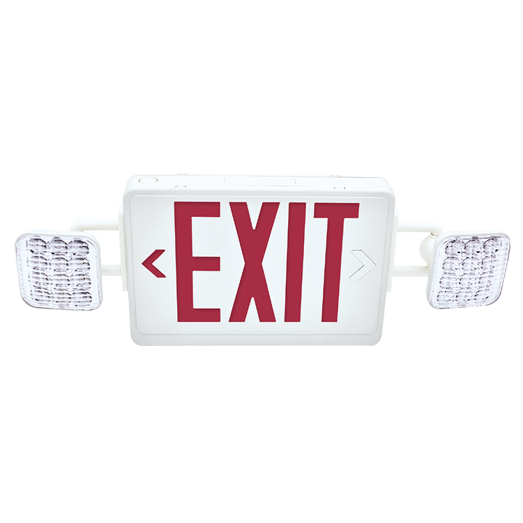Ceiling Mounted Emergency Exit Sign Low Bombillo Recargable Emergencia Lampara Led De Emergenci