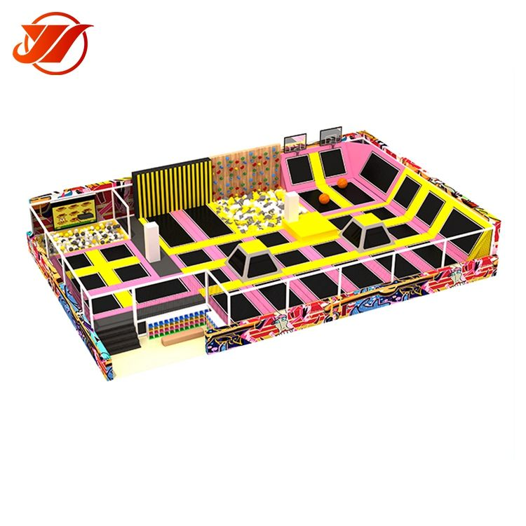 YIWANG Trampoline indoor, kids indoor trampoline bed from china