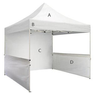Atacado Trade Show Tenda Gazebo do Dossel Da Barraca Impermeável Resistente AOS RAIOS UV