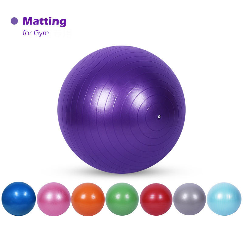 Eco friendly anti burst pvc Yoga Ball inflatable Massage Ball Gym Ball with custom logo
