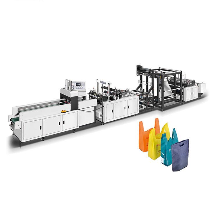 منتجات مُسجلة ببراءة اختراع عالية ال<span class=keywords><strong>كفاءة</strong></span> ث-قص سترة حقائب غير منسوجة ماكينة