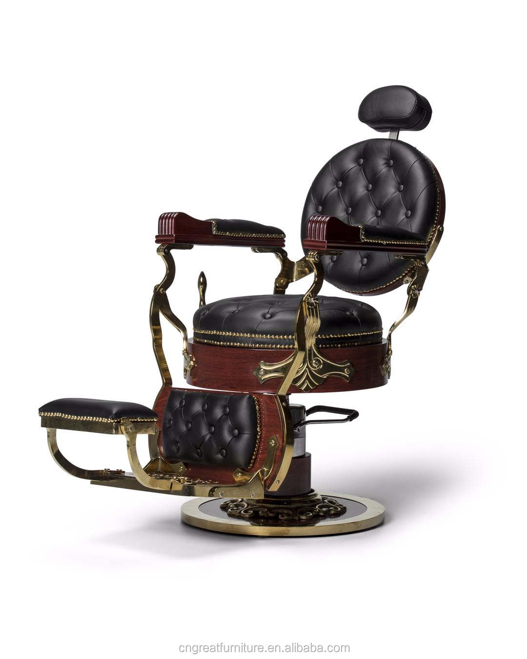 Beautiful Antique Durable Man Electric Used Barber Chairs Styling Chair For Sale Philippines