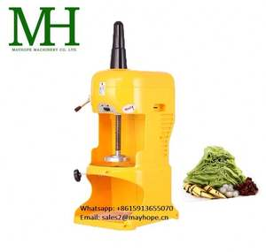 Efficient Snow Cone Blender Ice Crusher Machine Block Ice Shaver Machine