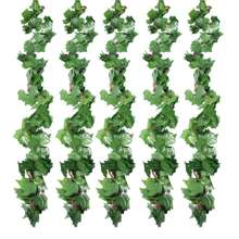 Wholesale greenery artificial ivy leaves vine hanging wall garland for garden home decoration