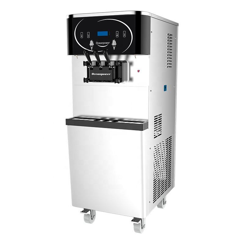 Oceanpower DW150TC commercial soft ice cream maker for frozen yogurt