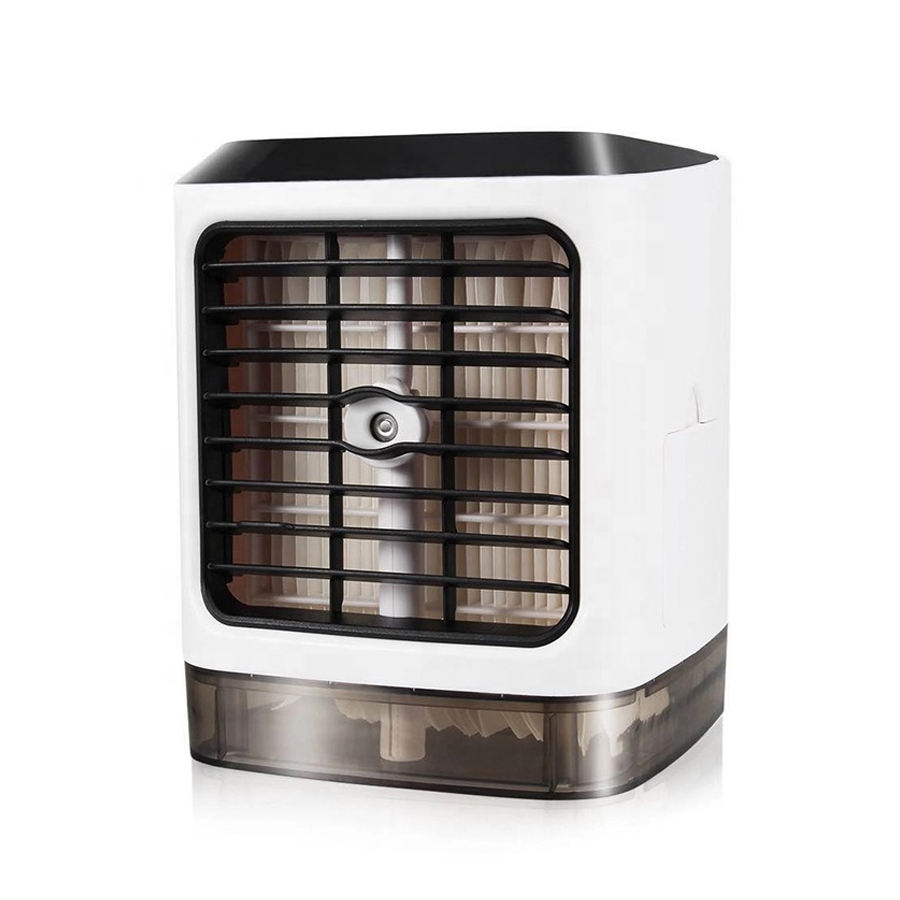 2020 Best USB Mini Air Conditioner Humidifier Purifier Room Mini Portable Air Cooler