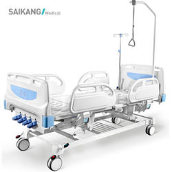 F4c China Manufacturer Luxury 4 Crank Hospital Manual Therapy Bed Price