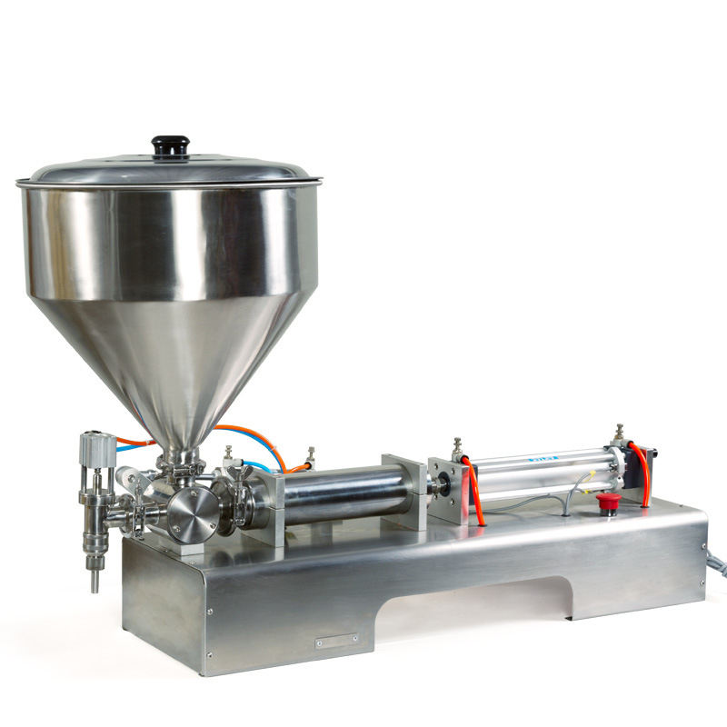 500-3000ml High Precision Semi Auto Piston Paint Grease Filling Machine