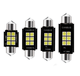 UNJOYLIOD C5W 3030 Chip 6 SMD 6 SMD LED Canbus Car Interior Light White DC 12V Error Free Auto Led Reading Lamp Dome Light Bulb