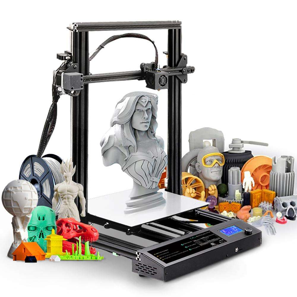 DIY 3D Printer 310x310x400mm Printing Size Works with different Filament