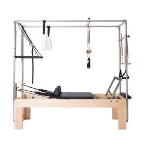 Fitness Studio equipment wooden Imported Maple cadillac two in one balanced body pilates reformer equipment