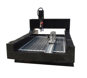 Stone Marble Granite Tombstone Headstone CNC Cutting Carving Engraving Machine