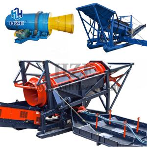Alluvial and Rock and Quartz Vein Gold Mining Processing Equipment