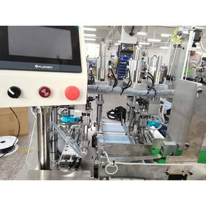 220V Mask machine semi automatic external ear type face mask production equipment Face mask ear band welding machine