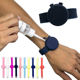 Silicone Wristband Silicone Hand Dispensers Christmas Gifts 2020 New Portable Silicone Sterilized Bracelet Disposable Hand Sanitizer Wristband Dispenser