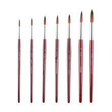 8 PCS Long Miniature Brushes Marie Artist Paint Brushes For Art Oil Painting