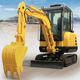 Mini Excavator 2.5t 2.5 Ton 2500kg Cheap Excavator With Ce Certification