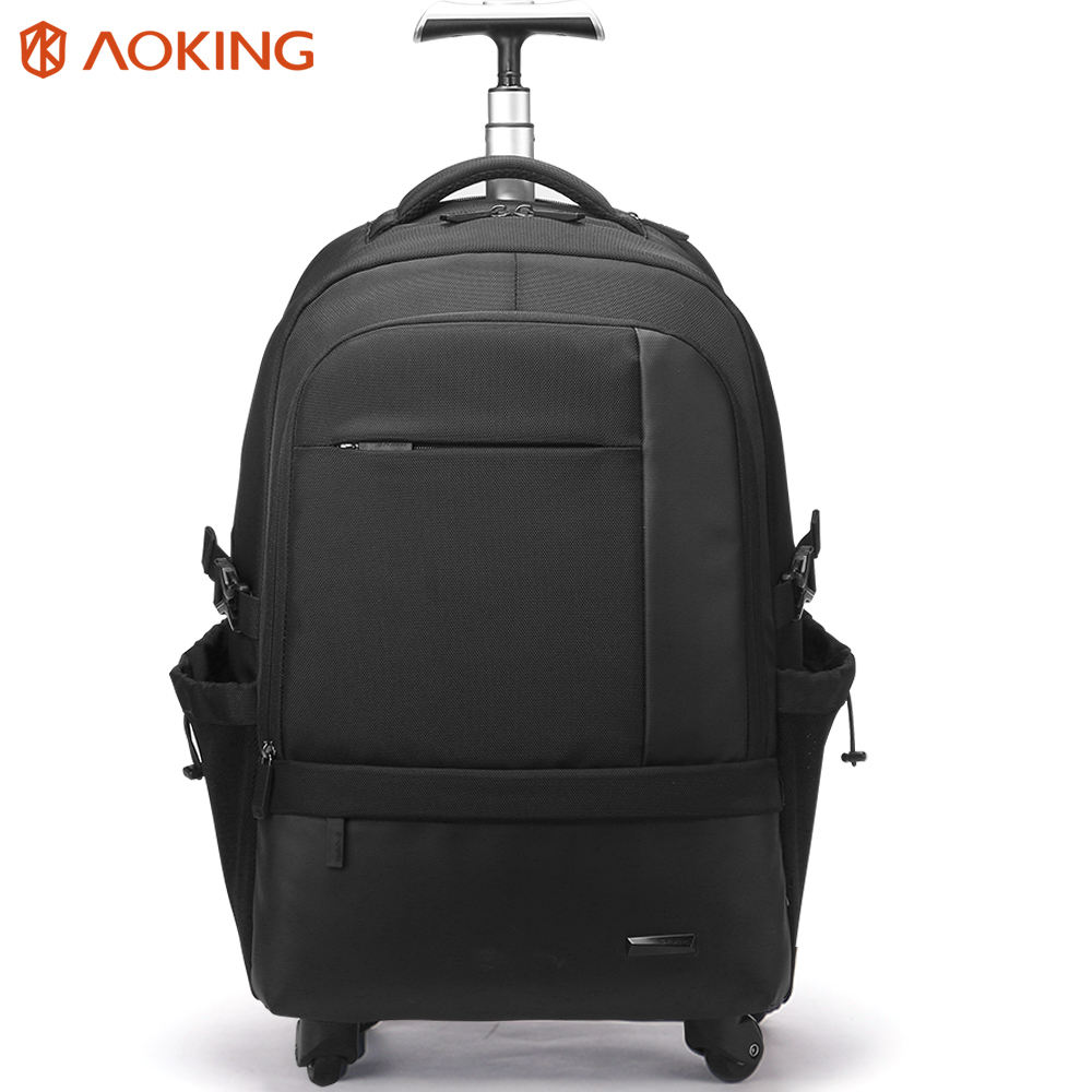 high capacity wheeled trolley bagpack rucksack wheeling back pack for travelling