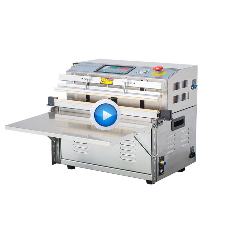 DZQ-500TE Automatic commercial vertical type external stainless steel vacuum packing machine