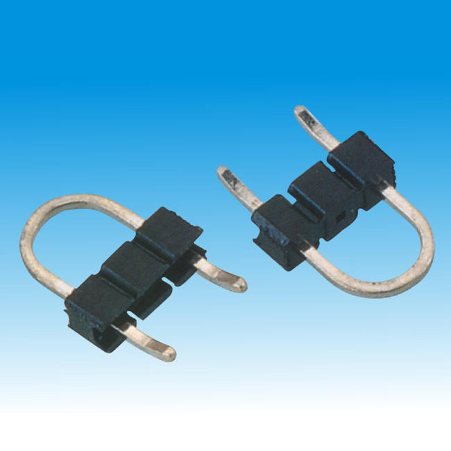 2.54mm u type pin header connector with hook
