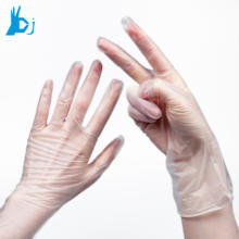 PVC disposable vinyl gloves with high quality AQL4.0